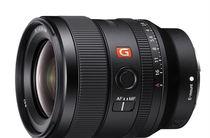 Sony announces the Sony FE 24mm 1.4 GM
