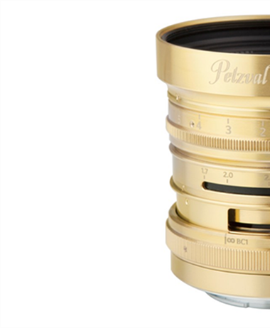 Petzval 55mm f/1.7 MKII Full Frame lens announced for Canon RF, Nikon...