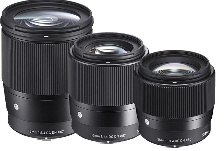 Sigma announces the DN DC line of lenses for the Canon EF-M mount