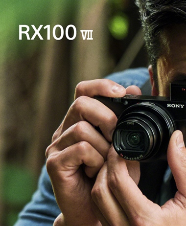Official Images of the powerful RX100 VII