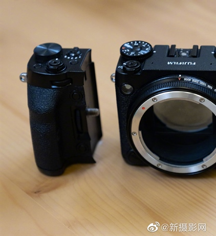 Fujifilm's modular GFX images appear