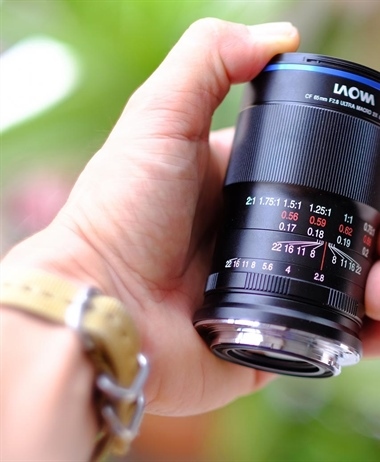 First images of the 65mm F2.8 2:1 Macro for Sony E, Canon M and...