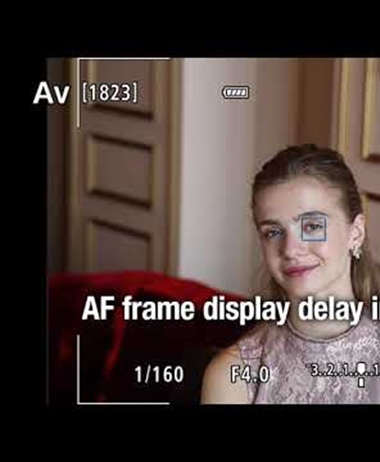 Canon catching up to Sony in Auto Focus - Fast