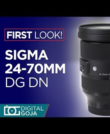 Sigma 24-70mm F2.8 DG DN ART First Look Review