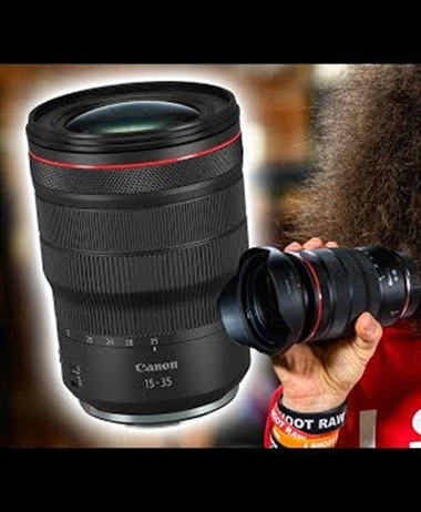 Jared Polin reviews the Canon RF 15-35mm F2.8 IS USM