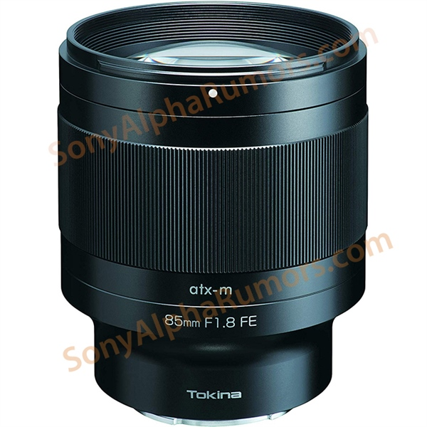 Leaked: Images of the Tokina ATX-M 85mm F1.8 for Sony E mount