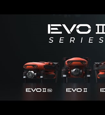Autel EVO II Series announced.  6K and 8K drones