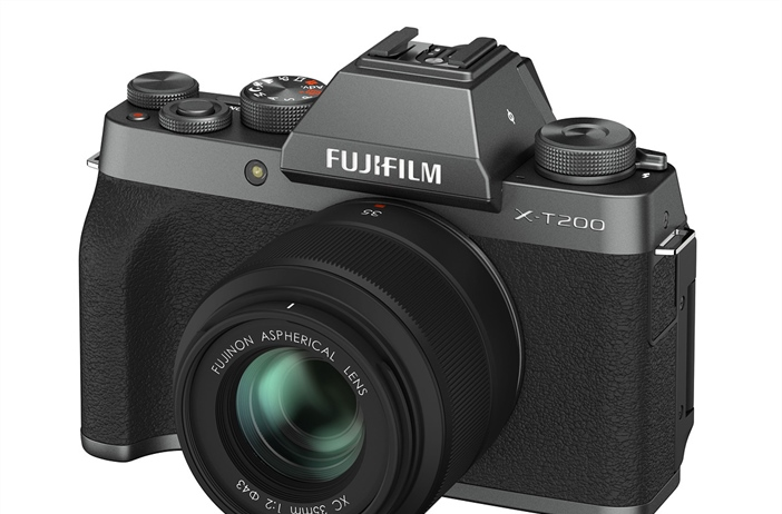 Fujifilm officially announces the X-T200