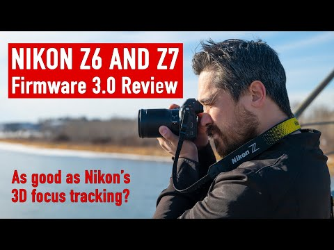 DPReviewTV: Nikon Z6 and Z7 autofocus firmware 3.0 tests