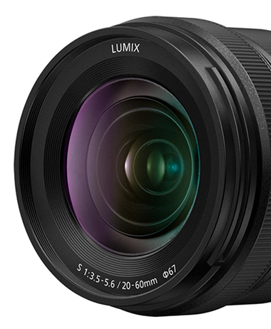 Leaked images of the new Panasonic S 20-60mm F3.5-5.6 lens