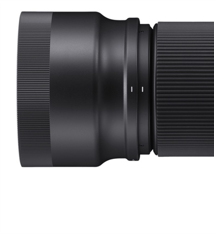 Product images of the upcoming Sigma 100-400mm